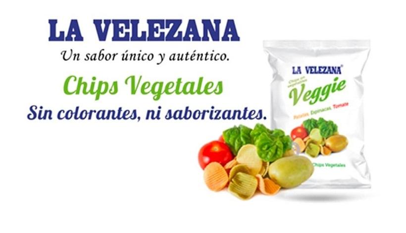 La velezana Chips de Vegetales AlmeriaSabor el Sabor de Almeria